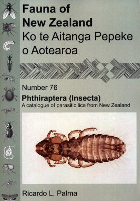 Fauna of New Zealand, No 76: Phthiraptera (Insecta), a Catalogue of Parasitic Lice from New Zealand