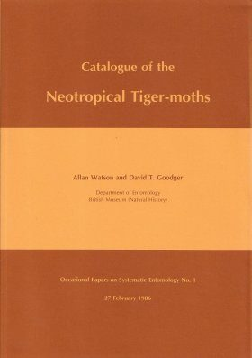Catalogue of Neotropical Tiger-moths