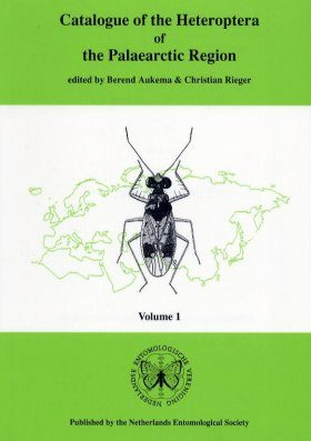 Catalogue of the Heteroptera of the Palaearctic Region (5-Volume Set)