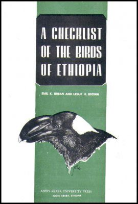 A Checklist of the Birds of Ethiopia