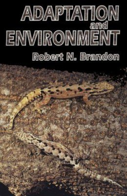 Adaptation and Environment