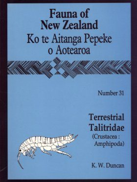Fauna of New Zealand, No 31: Terrestrial Talitridae (Crustacea: Amphipoda)