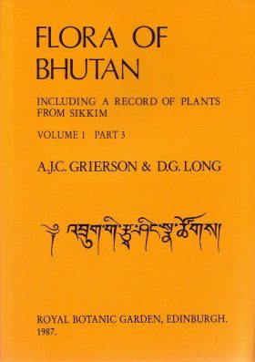Flora of Bhutan, Volume 1, Part 3