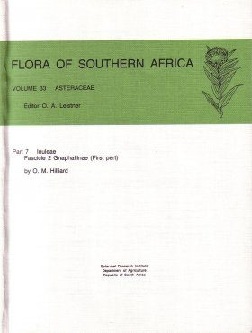 Flora of Southern Africa, Volume 33, Asteraceae, Part 7: Inuleae, Fascicle 2: Gnaphaliinae (First part)