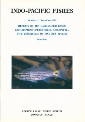 Revision of the Cardinal Fish Genus Cheilodipterus (Perciformes: Apogonidae), with Description of Five New Species