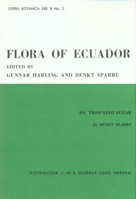 Flora of Ecuador, Volume 2, Part 89: Tropaeolaceae