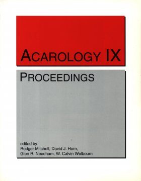Acarology IX, Volume 1: Proceedings