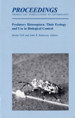 Predatory Heteroptera: Their Ecology and Use in Biological Control