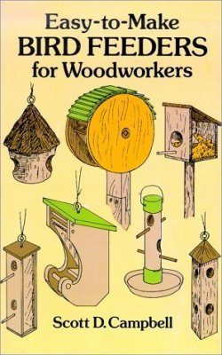 Easy to Make Bird Feeders for Wood Workers