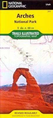 Utah: Map for Arches National Park