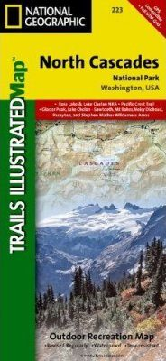 Washington State: Map for North Cascades National Park