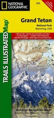 Wyoming: Map for Grand Teton National Park
