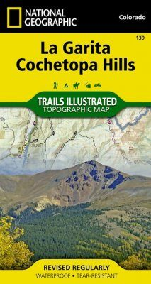 Colorado: Map for La Garita Wilderness/Cochetopa Hills