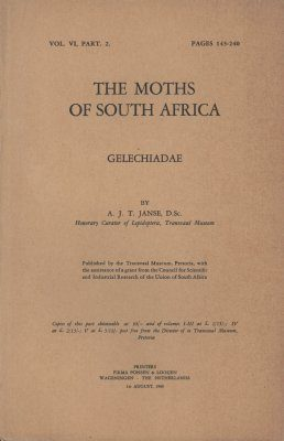 The Moths of South Africa, Volume 6, Part 2 (1960): Gelechiadae (2-Volume Set)