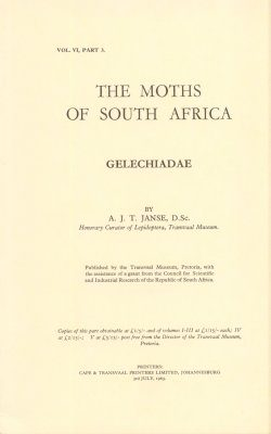 The Moths of South Africa, Volume 6, Part 3 (1963): Gelechiadae