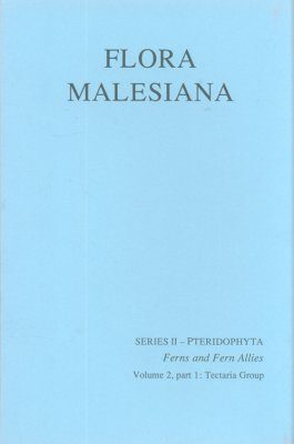 Flora Malesiana, Series 2: Pteridophyta, Volume 2, Part 1