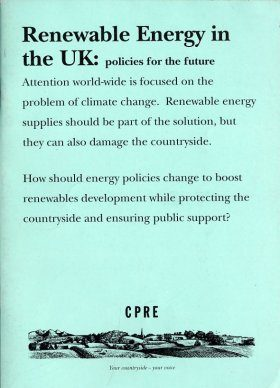 Renewable Energy in the UK: Policies for the Future