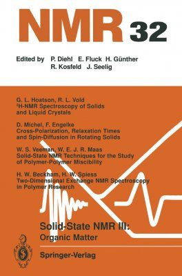 Solid State NMR III