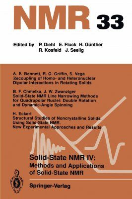 Solid-State NMR IV