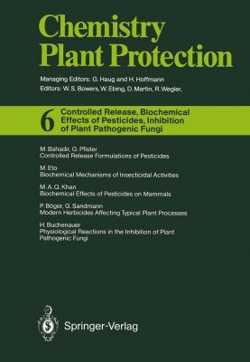 Controlled Release, Biochemical Effects of Pesticides, Inhibition of Plant Pathogenic Funghi