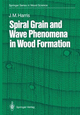 Spiral Grain and Wave Phenomena in Wood Formation
