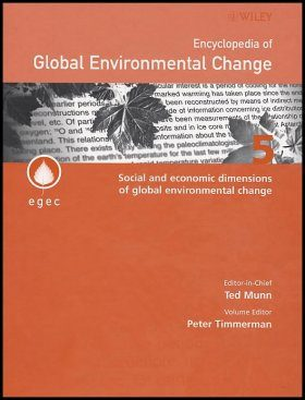 Encyclopedia of Global Environmental Change (5-Volume Set)