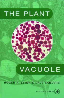 The Plant Vacuole