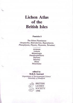 Lichen Atlas of the British Isles: Fascicle 3