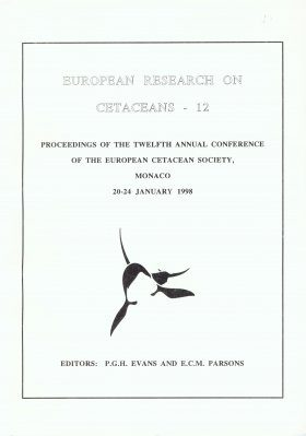 European Research on Cetaceans, Volume 12