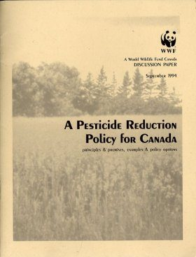 A Pesticide Reduction Policy for Canada
