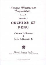Fascicle 1: Orchids of Peru (Part 1)