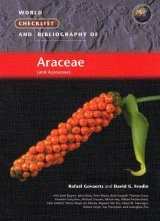 World Checklist and Bibliography of Araceae (and Acoraceae) Image