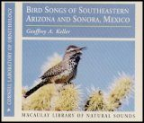 Bird Songs of Southeastern Arizona and Sonora, Mexico (2CD) Image