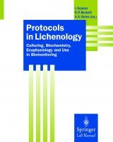 Protocols in Lichenology