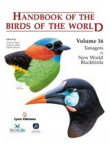 Handbook of the Birds of the World, Volume 16: Tanagers to New World Blackbirds
