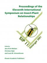 Proceedings of the 11th International Symposium on Insect-Plant Relationships Image