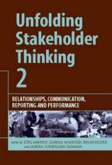Unfolding Stakeholder Thinking 2: Relationships, Communication, Reporting and Performance Image