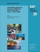 A Rapid Marine Biodiversity Assessment of Milne Bay Province, Papua New Guinea - Survey II (2000)
