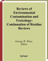 Reviews of Environmental Contamination and Toxicology, Volume 179