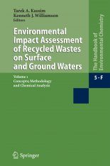 The Handbook of Environmental Chemistry Volume 5 Part F, Subvolume 1