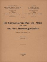 Die Süsswasserkrabben von Afrika (Crust. Decap.) und Ihre Stammesgeschichte [The Freshwater Crabs of Africa (Crust. Decap.) and Their Family History]
