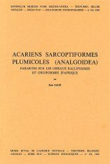 Acariens Sarcoptiformes Plumicoles (Analgoidea) [French]