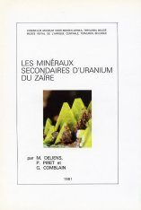 Les Minéraux Secondaires d'Uranium du Zaïre [The Secondary Minerals of Uranium from Zaire] Image