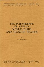 The Echinoderms of Kenya's Marine Parks and Adjacent Regions