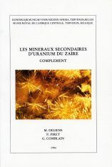 Les Minéraux Secondaires d'Uranium du Zaïre, Complément 1 [The Secondary Minerals of Uranium from Zaire, Supplement 1] Image