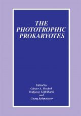 Phototrophic Prokaryotes: Proceedings of the Ninth International Symposium Held in Vienna, Austria, September 6-12, 1997