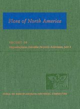 Flora of North America North of Mexico, Volume 20: Magnoliophyta: Asteridae, Part 7: Asteraceae, Part 2: Asterales, Part 2 (Aster order)