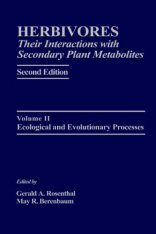 Herbivores: Their Interactions with Secondary Metabolites, Volume 2