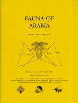 Fauna of Saudi Arabia: Index to Volumes 1-20