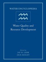 Water Encyclopedia: Water Quality and Resource Development